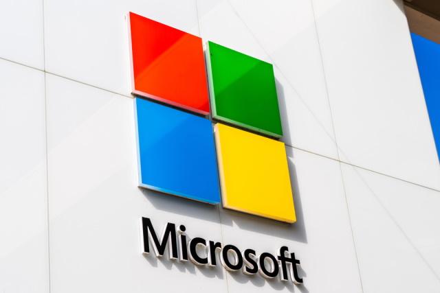 Farebné logo spoločnosti Microsoft