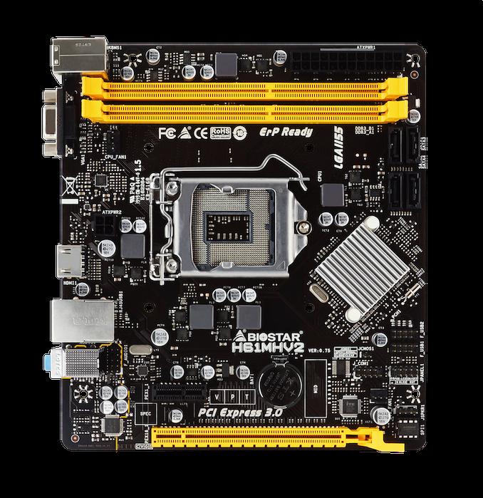 V roku 2011 sa volá: Biostar Relaunches H61 Chipset v roku 2020 1