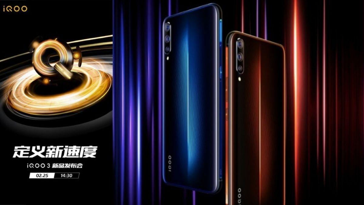 Vivo iQOO 3 5G, ktoré sa má spustiť 25. februára 2020 v Číne 1