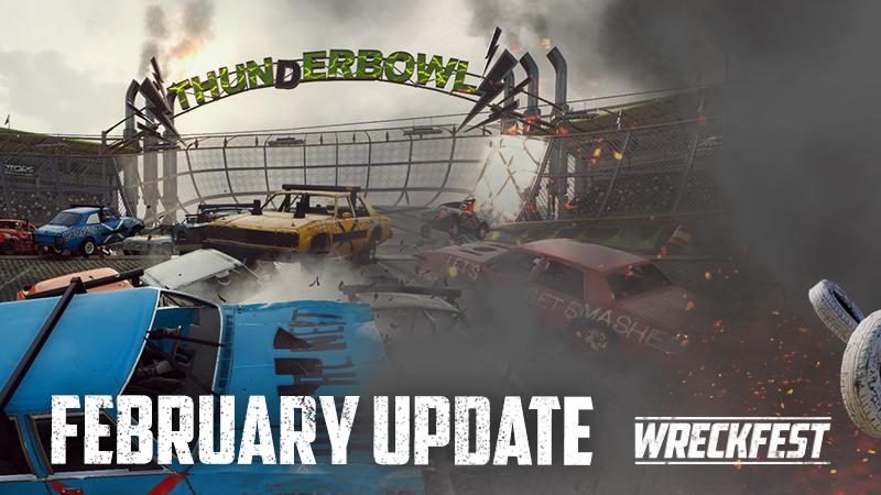Vydanie aktualizácie Wreckfest Február, dve nové nové skladby 1