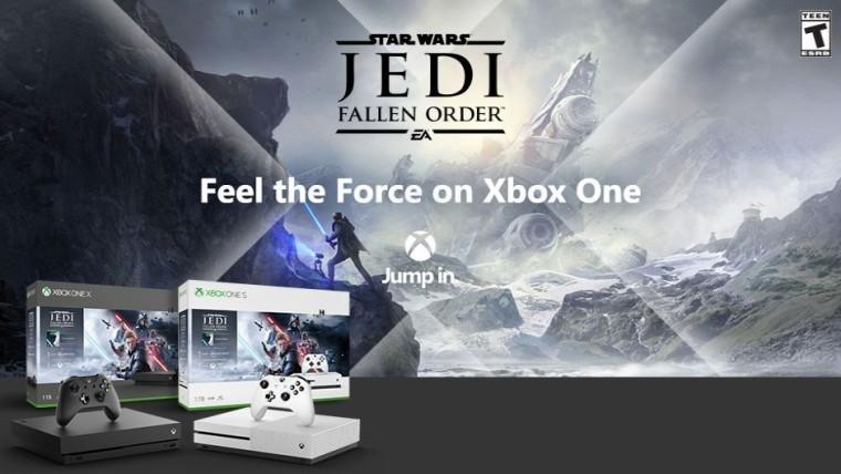 Xbox One X s Star Wars Jedi: Fallen Order, NBA 2K20 alebo Gears 5 je teraz 299 dolárov 1