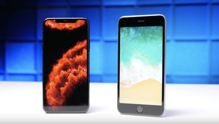 iPhone 6s vs iPhone 11 Pro speed test porovnanie