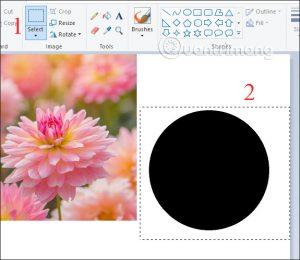 Orezanie fotografie v kruhu pomocou programu Skicár a Maľovanie 3D 6