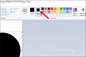 Orezanie fotografie v kruhu pomocou programu Skicár a Maľovanie 3D 8