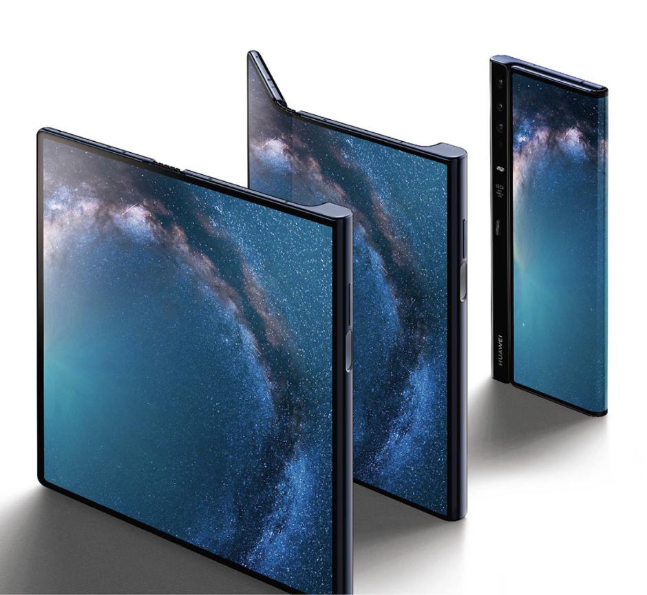 Huawei Mate X Noste a noste na skladacej obrazovke