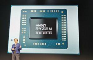 Odhalený APU produktu Ryzen Mobile 4000 Series 7nm