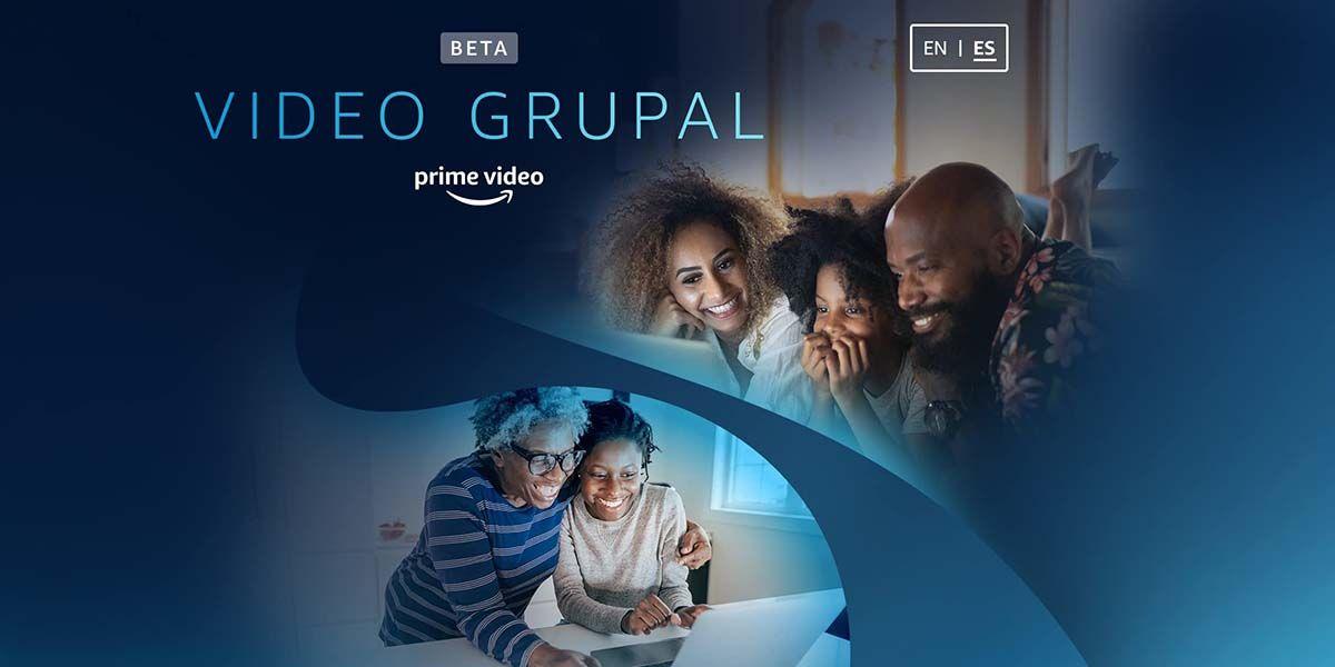skupinové video beta amazon prime španielsko test