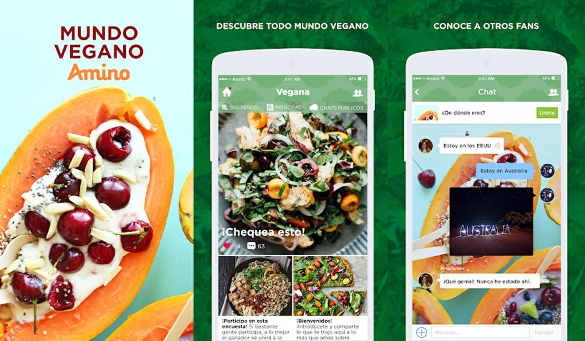 amino vegánsky svet