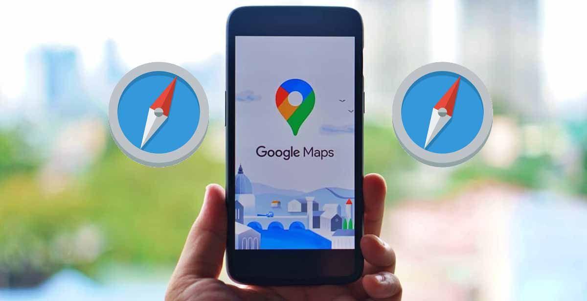 Mapy pre Android už majú kompas