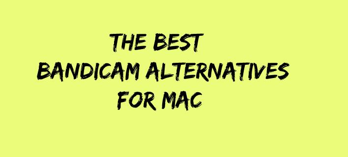 Najlepšie alternatívy bandicamu pre počítače Mac [2021] 1