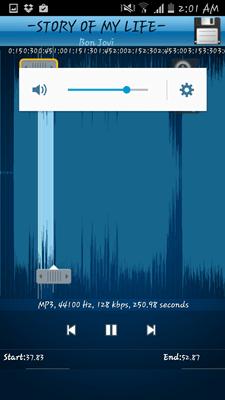 MP3 Cutter a vyzváňací tón 004
