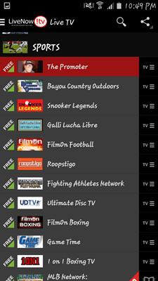 LiveNow! TV PlusScreenshot_2015-06-23-22-49-39