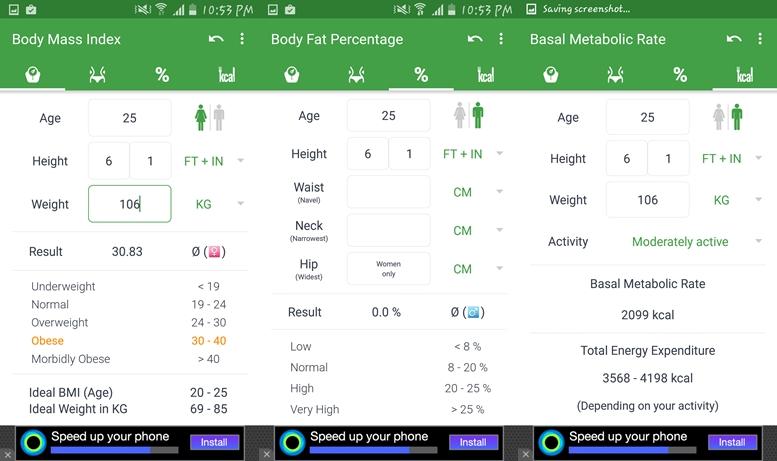 Kalkulačka BMI