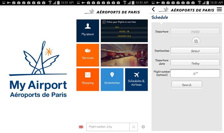 Letiská v Paríži