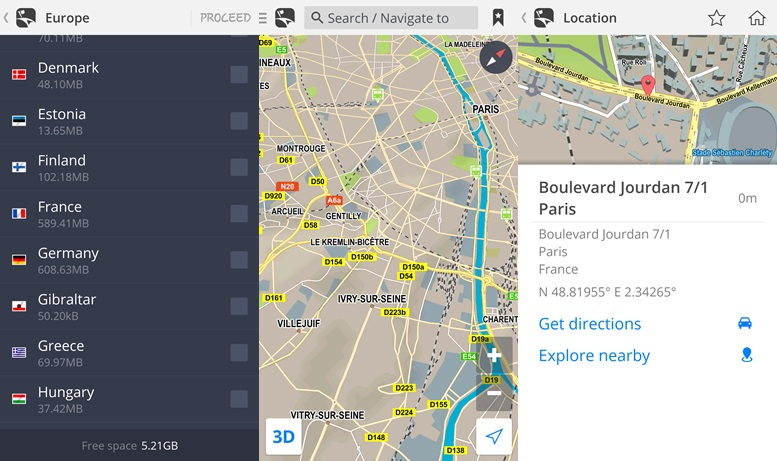 Mapy od Sygic