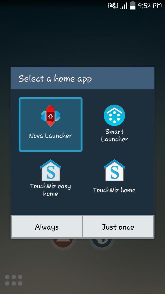 Ľahký spúšťač Android