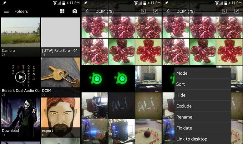 QuickPic - aplikácie Galéria Android