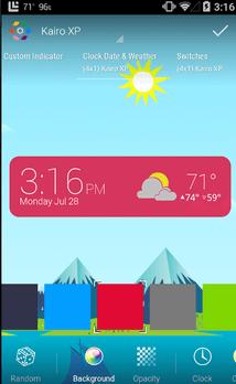 HD widgety počasie