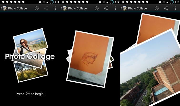 Aplikácia Photo Collage pre Android
