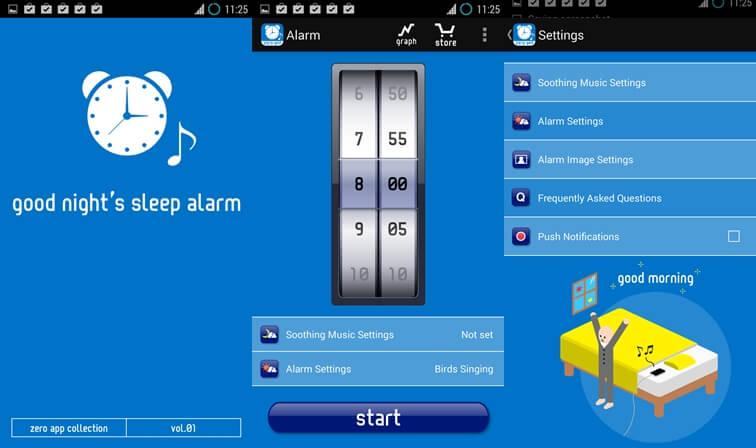 Alarm na dobrú noc