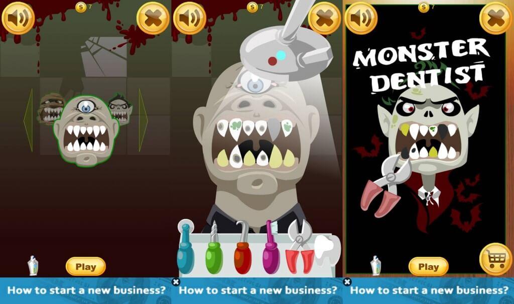 zubár príšer
