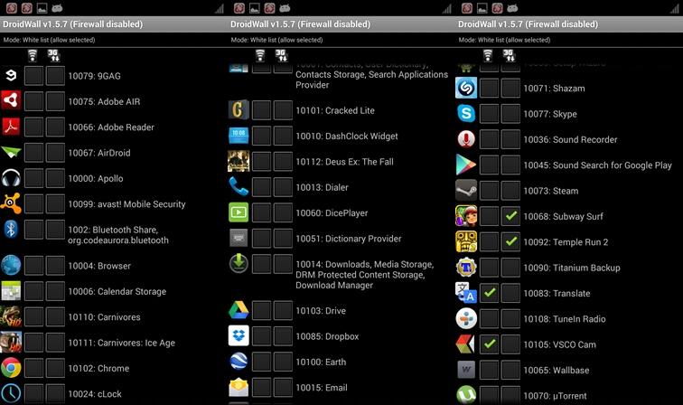 droidwall Najlepšia aplikácia pre zabezpečenie systému Android