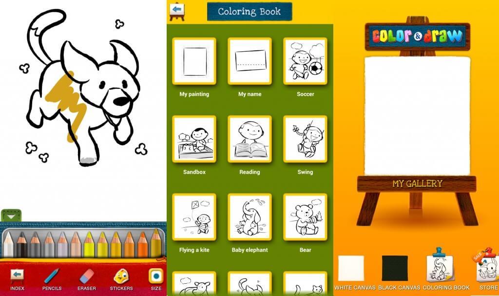 Farba a kresba pre deti