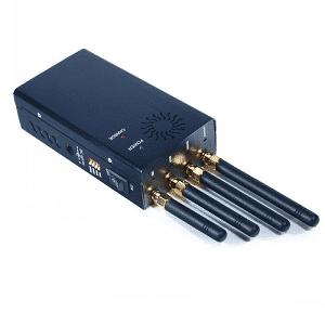 Prenosný blokovač mobilných telefónov 4G LTE 3G s chladiacim ventilátorom