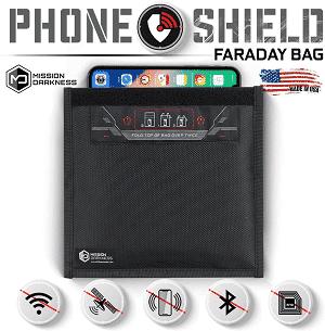 Mission Darkness Non-window Faraday taška pre telefóny