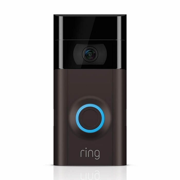 Domový zvonček kompatibilný so službou Google Home: Zvonček s video zvonením 2