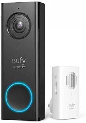 Domový zvonček kompatibilný s domovskou stránkou Google: Domový zvonček Eufy Security Wi-Fi