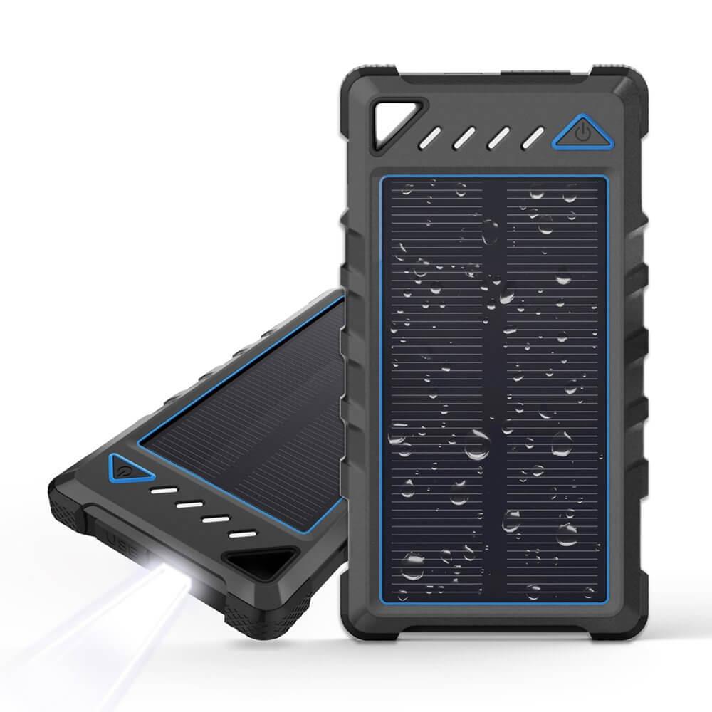 Ultra kompaktná prenosná solárna nabíjačka BEARTWO 10 000 mAh
