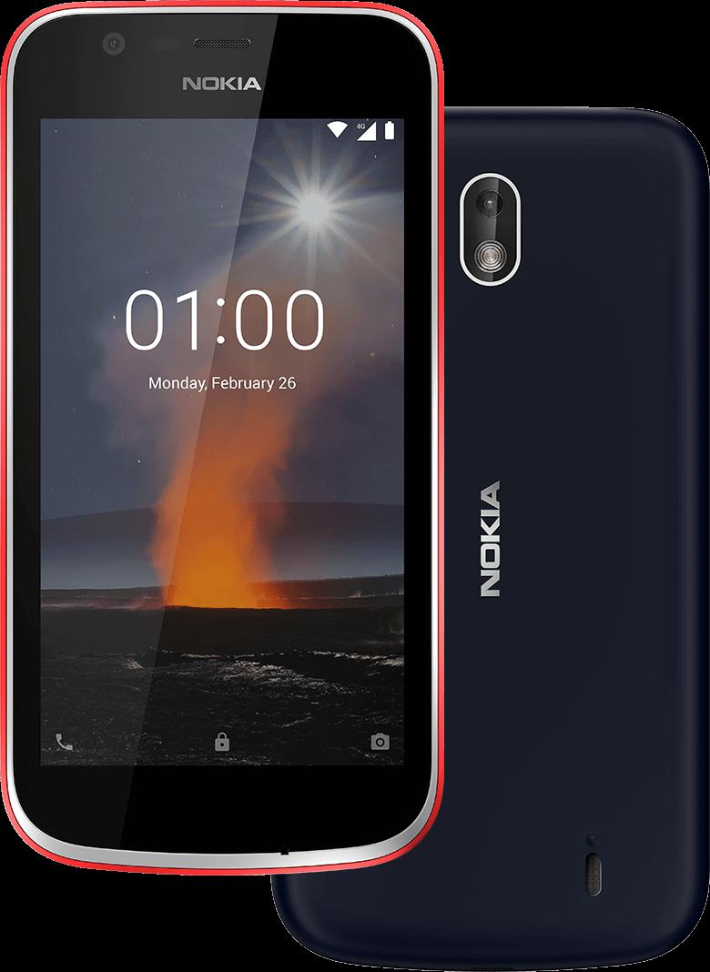 najlepšie hodnotený-android-telefón-smartphone-nokia-1-jeden