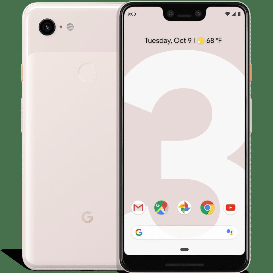 najlepšie hodnotený-android-telefón-smartphone-google-pixel-3