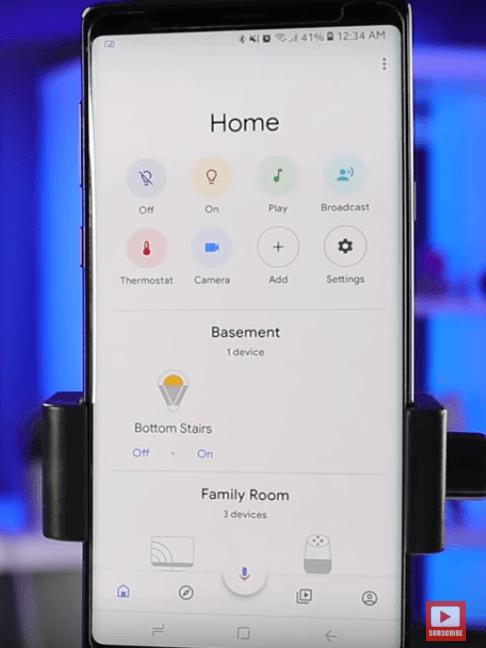 google domáca aplikácia