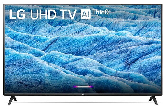 Najlepšia domáca televízia kompatibilná s Google: LG 43UM7300PUA UHD TV
