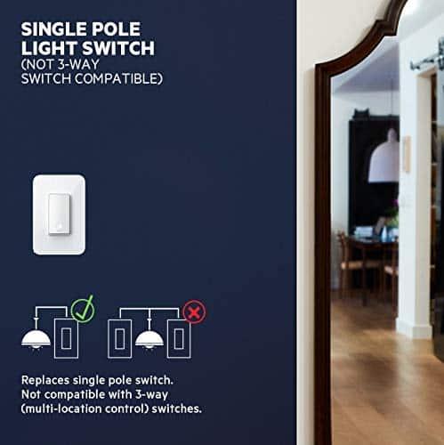 Elektrické požiadavky na WeMo Smart Switch