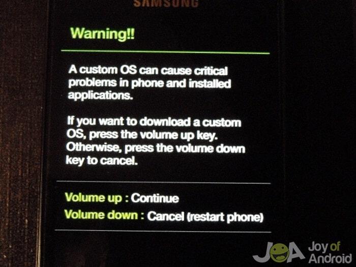 Podrobný sprievodca rootovaním Samsungu Galaxy Dňa 5 4