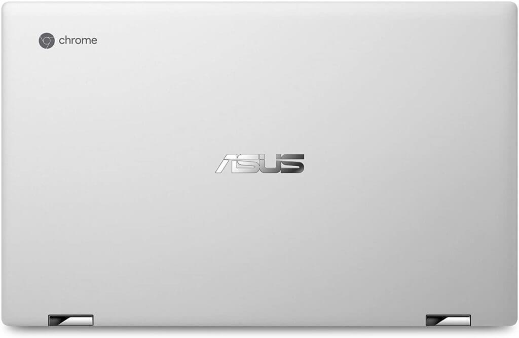 Najlepšie ponuky pre Chromebooky - dizajn ASUS Chromebook Flip C434 - zadná strana