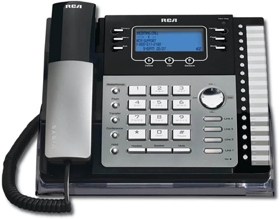 Viaclinkový telefónny systém RCA ViSys 25424RE1 pre malé firmy