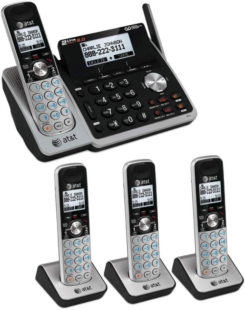 Viaclinkový telefónny systém AT&T (TL88102) pre malé firmy