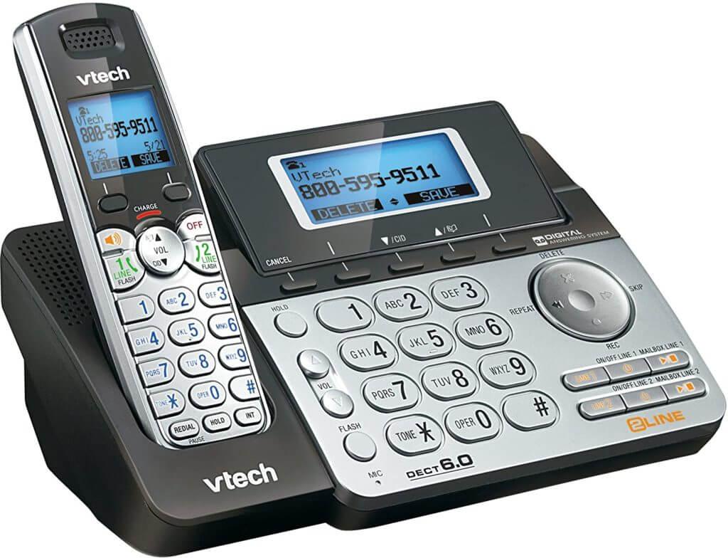 Viaclinkový telefónny systém VTech DS6151 pre malé firmy