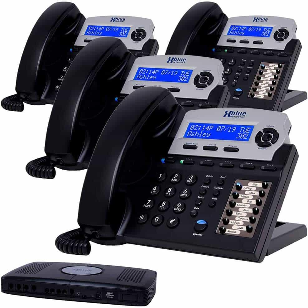 Viaclinkový telefónny systém XBLUE X16 pre malé firmy