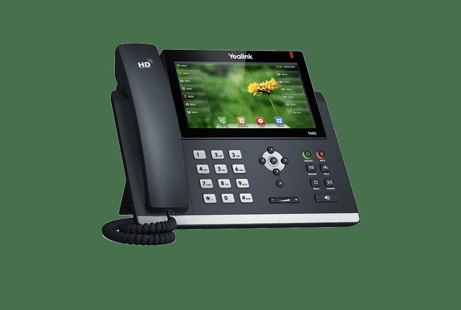 Ultra elegantný dotykový IP telefón Yealink SIP-T48S