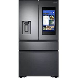 Inteligentná chladnička Samsung 4-Hĺbka pultu francúzskych dverí z nehrdzavejúcej ocele