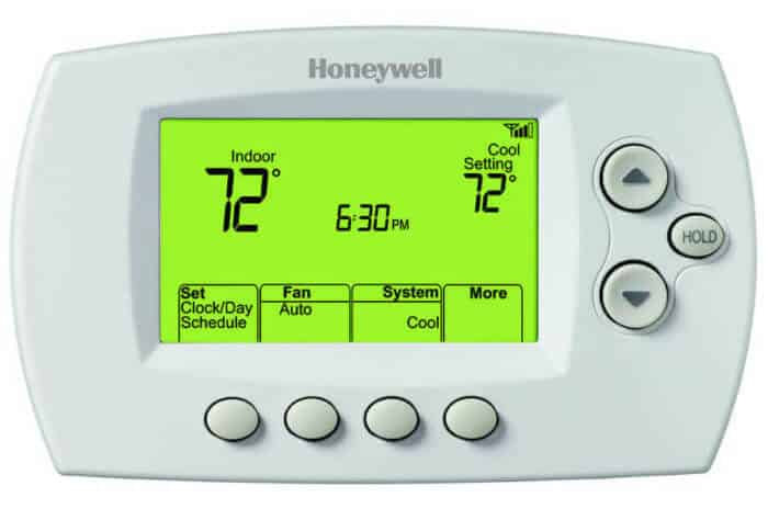 Wi-Fi pripojenie na internet Honeywell 7-Denný programovateľný termostat