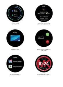 Android Watch Amazon - Zobrazenie na zariadení Michael Kors Access Lexington 2