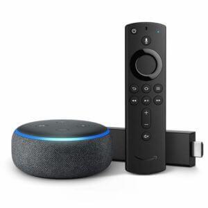 Fire TV Stick 4K s technológiou Echo Dot