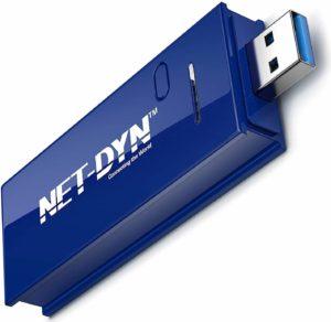 Najlepšie USB Wi-Fi adaptéry: NET-DYN USB bezdrôtový Wi-Fi adaptér