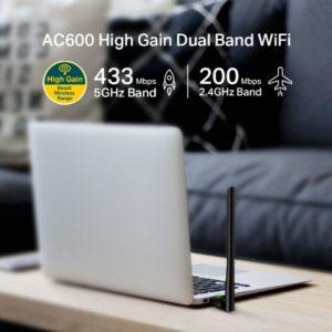 Najlepšie USB Wi-Fi adaptéry: Ukážka USB Wi-Fi adaptéra TP-Link AC600